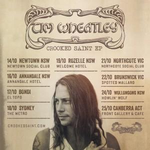 Tim Wheatley tour