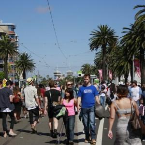St Kilda Festival Sunday 2015 – Street