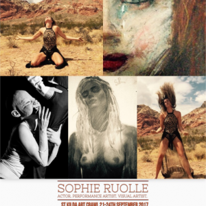 Live performance by Sophie Ruolle at 33 Fitzroy St. 23 – 24 Sept