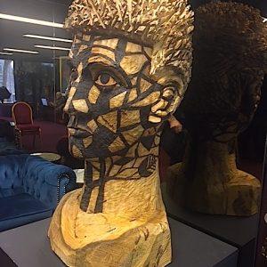 Adrian Spurr sculpture exhibition at Alex Theatre