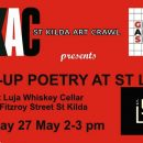 PoP-UP Poetry at St Luja